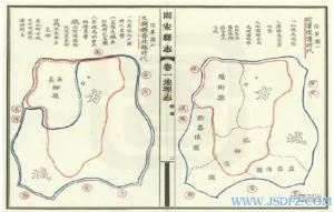 地方志中的地图